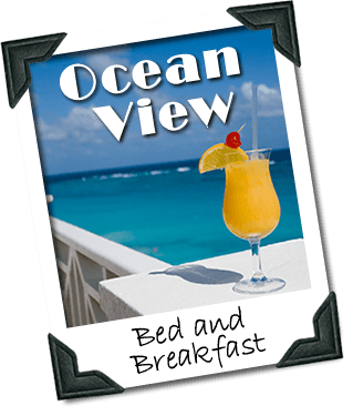 Ocean View Bed and Breakfast Logo